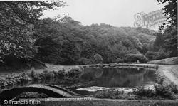 Darwen, The Lake, Sunnyhurst Wood c.1955
