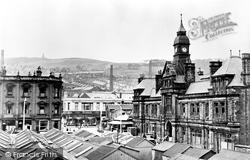 Darwen, The Market Hall c.1955