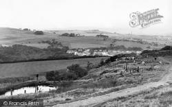 Darwen, The Moor And Sunnyhurst Wood c.1955