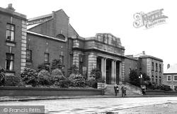 Darwen, The Public Baths c.1950