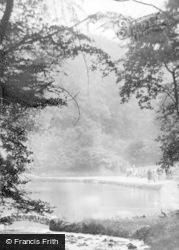 Darwen, The Wading Pond, Sunnyhurst Wood c.1935