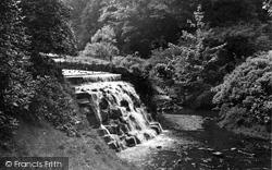 Darwen, The Waterfall, Sunnyhurst Wood c.1950