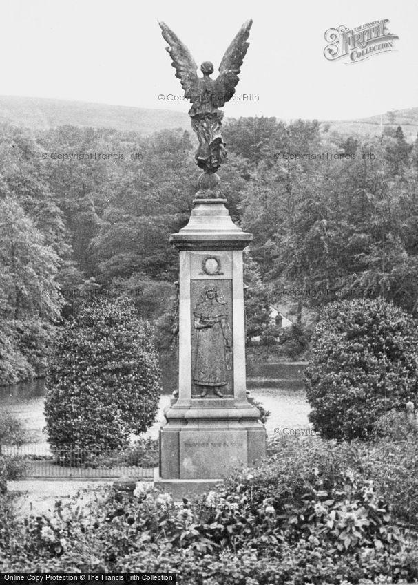 Darwen, War Memorial, Bold Venture Park c1955