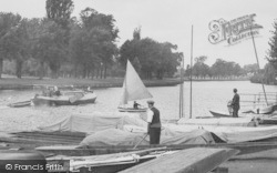 Datchet, Boats On The Thames c.1950