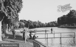 Datchet, By The Riverside c.1950