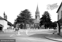 Datchet, St Mary's Church c.1955