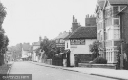 Datchet, The Astracot Tea Rooms, Horton Road c.1950