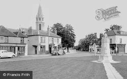 Datchet, The Green And War Memorial c.1950