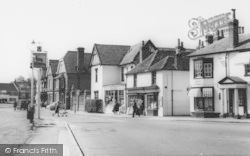 Datchet, The Grocery And Wine Stores, The Green c.1965