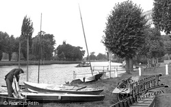Datchet, The Thames c.1950
