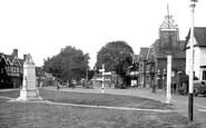 Datchet, War Memorial c1950