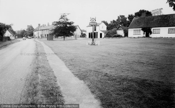 Photo of Datchworth, The Green And Whipping Post c.1965