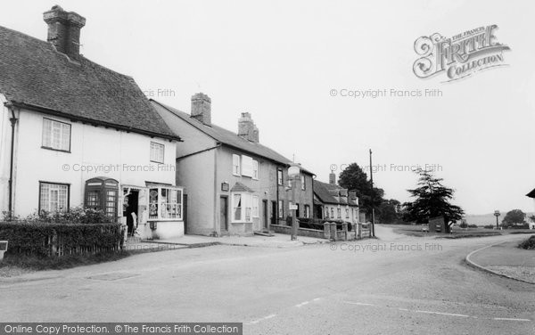 Photo of Datchworth, The Post Office And The Plough c.1965
