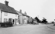 Datchworth, the Post Office and the Plough c1965