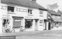 Davenham, Bert Price's Shop c.1965
