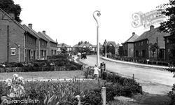 Davenham, Mount Pleasant Road c.1955