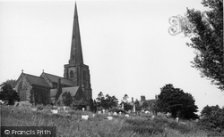 Davenham, St Wilfrid's Church c.1955