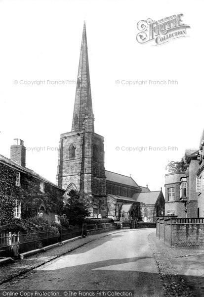 Photo of Davenham, Church south west 1898, ref. 42149