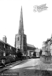 Davenham, St Wilfrid's Church From The South West 1898