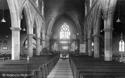 Davenham, The Church Interior c.1955