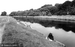 Davenham, The River c.1965