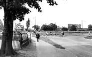 Davenham, the Roundabout c1955