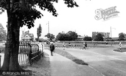 Davenham, The Roundabout c.1955