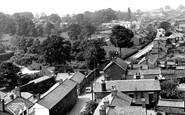 Davenham, view from Church Tower c1955