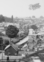 Davenham, Village From Church Tower c.1955