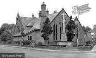 Davenham, War Memorial and School c1955