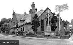 Davenham, War Memorial And School c.1955