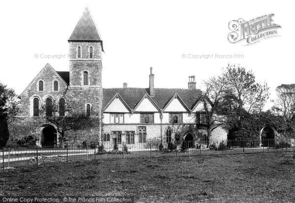 Davington, the Priory 1892