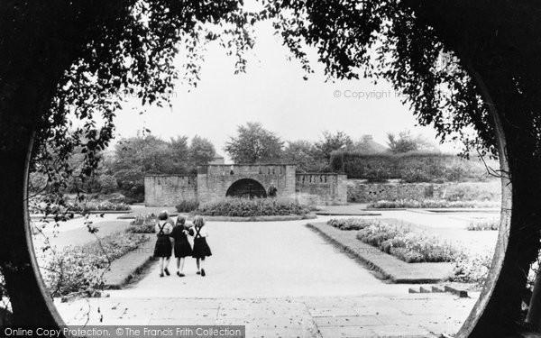 Photo of Davyhulme, The Park c.1955