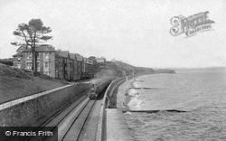 Bathing Beach And Railway 1906, Dawlish