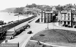 Blenheim Hotel And Promenade 1925, Dawlish