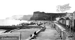 From Railway Station c.1874, Dawlish