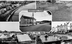 Lady's Mile Farm Composite c.1960, Dawlish