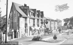 Parade Of Shops c.1950, Dawlish