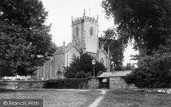 Parish Church 1890, Dawlish