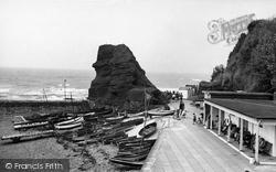 Red Rock And Boat Cove c.1950, Dawlish