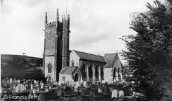 St Gregory's Church c.1955, Dawlish