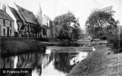 Dawlish, St Mark's And Upper Lawns 1903