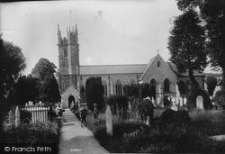 St Michael's Church 1906, Dawlish