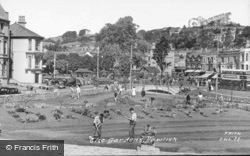The Gardens c.1955, Dawlish