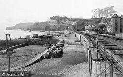 Dawlish, The Harbour Point c.1950