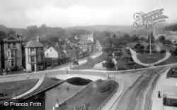 The Lawns From The Railway 1899, Dawlish