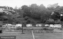 Lee Cliff Caravan Park c.1955, Dawlish Warren