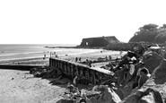 Dawlish Warren, the Beach c1955