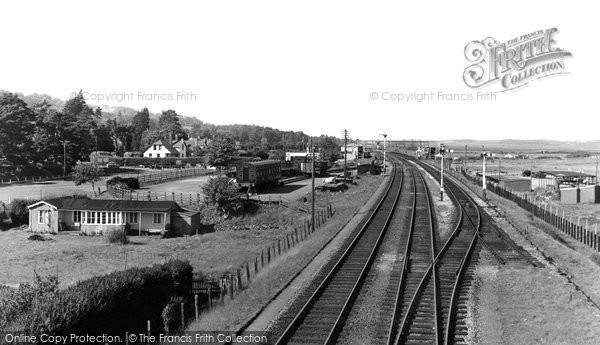 Dawlish Warren, the Main Line c1960