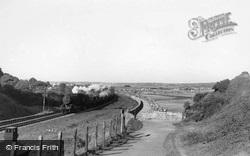 The Railway c.1955, Dawlish Warren